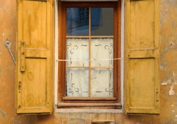 Buying a house in France - Village window